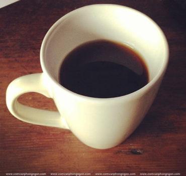 cà phê đên