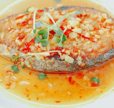 cá thu sốt bơ tỏi