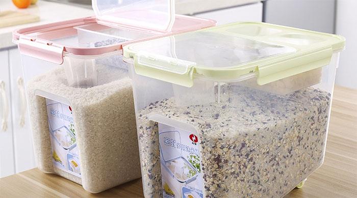 cách khử mủi mốc của gạo