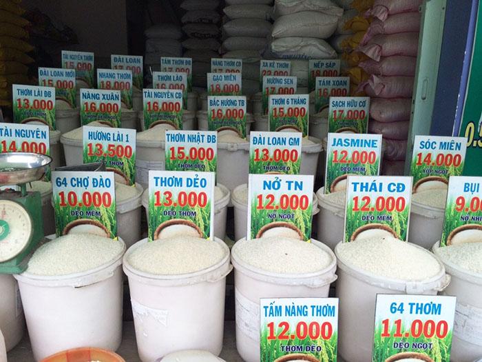 mở cửa hàng gạo sạch