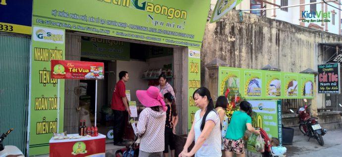 mở cửa hàng kinh doanh gạo