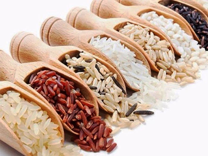 trong gạo chứa chất gì
